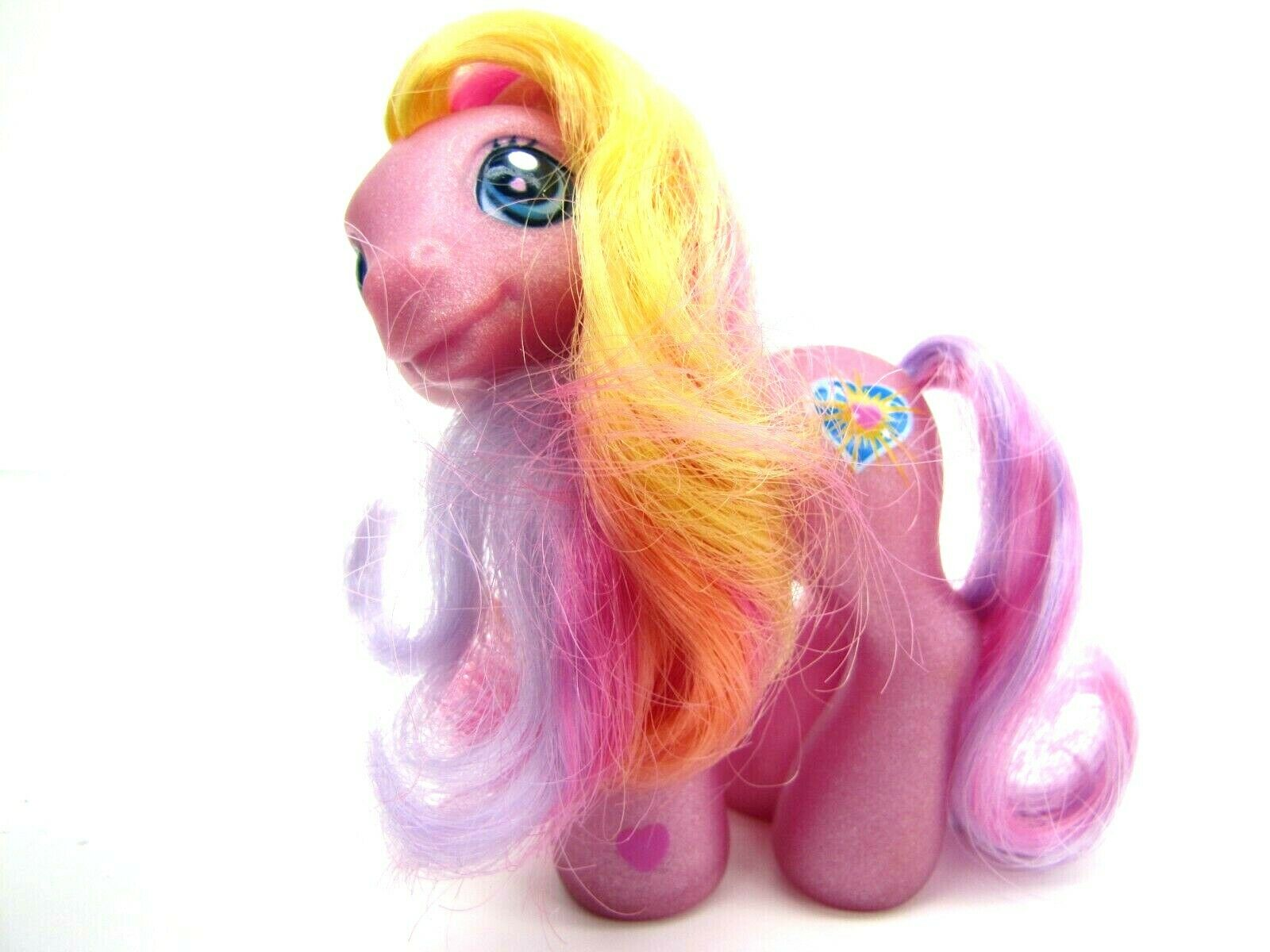 2003 My Little Pony Generation 3 Celebration Castle PINK SUNSPARKLE Very Nice